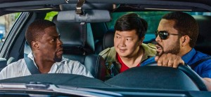 Kevin Hart, Ken Jeong and Ice Cube co-star in the comedy Ride Along 2.